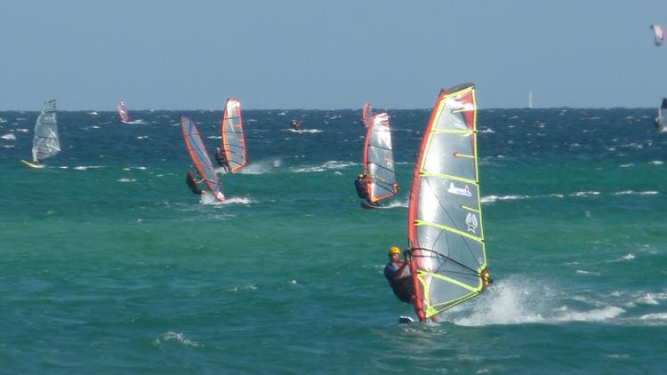 Tony sailing