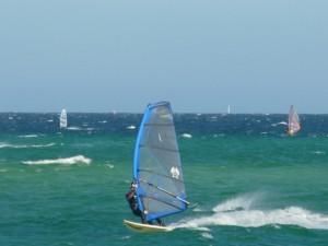 Mike sailing